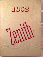 "1952 SIMPSON  COLLEGE YEARBOOK "" ZENITH ""  Indianola, Iowa Original w/no writing"