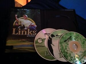 LINKS 2003 PC GAME Disc LN COMPLETE GOLF ORIGINAL RELEASE