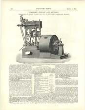 1891 Combined Engine And Dynamo, Willem Smit, Slikkerveer, Holland