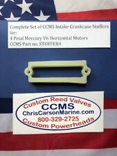 CCMS Mercury Outboard Racing Crankcase Stuffer Kit 4 Petal V6