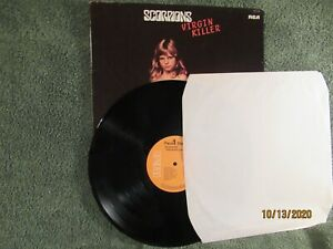 "SCORPIONS ""VIRGIN KILLER"" 1ST EDIT. FRENCH IMPORT M- VINYL RCA GATEFOLD STEREO"