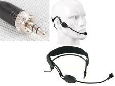 High Qulity Black Headset Head Microphone For Sennheiser Wireless G1 G2 G3