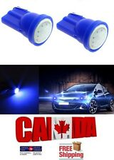 2pcs Blue COB LED T10 194 158 168 912 Map Dome License Plate Wedge Light BulbsBr