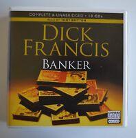 Banker: by Dick Francis - Unabridged Audiobook - 10CDs