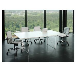 ONLY £299 plus vat boardroom table 220cm x 130cm with cable management