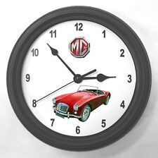 MGA MG Garage Wall Clock New Great Gift!