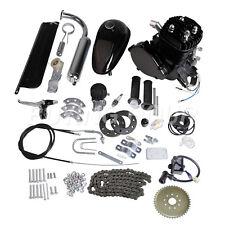 Gas Motor Engine Kit for DIY Motorized Bicycle Bike Black 80cc 2-Stroke