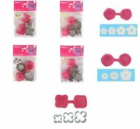 Blossom Sugar Art MULTI Mould & Cutter Modelling Sets, Petunia, Hydrangea & MORE