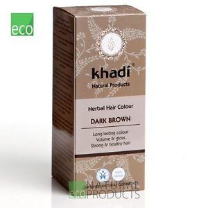 💚Khadi Herbal  Hair Colour Dark Brown 100g