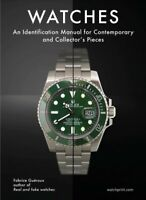 Watches : An Identification Manual for Contemporary and Collector's Pieces, H...