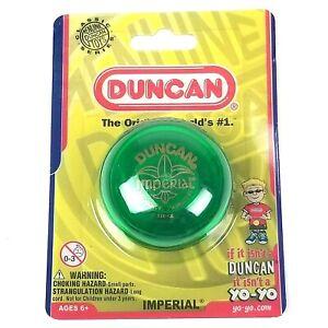 Yo-Yo Duncan Imperial Toys Green Yoyo Girls Boys Gifts Original Classic Series