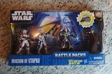 Invasion of Utapau BATTLE Packs Pack  STAR WARS Saga The Clone Wars MIB