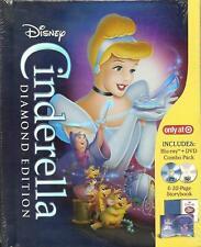 Disney Cinderella Blu-ray Digibook 32page Storybook Target OOP