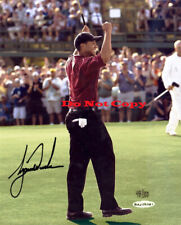 TIGER WOODS AUTOGRAPHED SIGNED 8X10 PHOTO 2002 MASTERS REPRINT