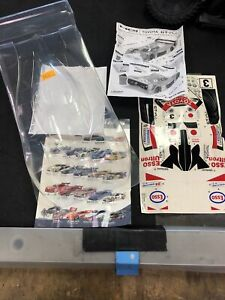 Hpi 1/8 Super Nitro Toyota Gt-one Body Clear Missing Parts 7505