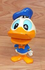 "Vintage Talking 7"" Tall ""Donald Duck"" Pull String Toy With Moving Mouth *Read*"