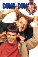 NEW DUMB AND & DUMBER JIM CARREY 1994 ORIGINAL MOVIE CINEMA PRINT PREMIUM POSTER