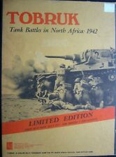 Tobruk, Tank Battles in North Africa 1942 First Run Limited Edition July 1975 AH