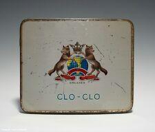 Blechdose CLO-CLO KOSMOS, DRESDEN um 1910 (gebogene Ausführung)