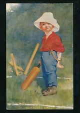 Sport CRICKET artist Kinsella Out First Ball PPC Used 1906