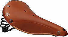 Brooks Flyer Special Black Rail Leather Bicycle Saddle Honey