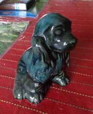 Wyatt Canadian Art Pottery Dog Figurine with Sticker