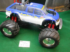 Rare RC Remote Control Truck Car Monster Kyosho Giga Crusher Nitro Engine