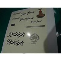 1990 bagged ex-factory NOS Raleigh Pioneer decal set