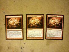 MTG Heretics Punishment x 3 - Rare - Innistrad - Magic The Gathering Cards Lot