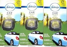 Febreze Car Vent Clip BIG SUR WOODS PINE Air Freshener - 3 PACKS