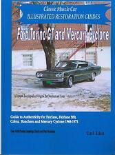 68 69 70 71 FORD TORINO/GT/ FAIRLANE RESTORATION GUIDE