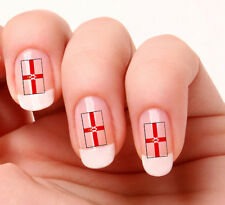 20 Nail Art Decals Transfers Stickers #294 - Ulster Flag
