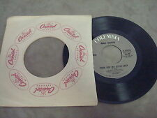 """MAC DAVIS- POEM FOR MY LITTLE LADY/  BABY DON'T GET HOOKED ON ME  7"""" LP"""