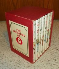 The Treasury of Oz - 7 vol in slipcase Hardcover - Baum, L Frank (Lyman Frank)