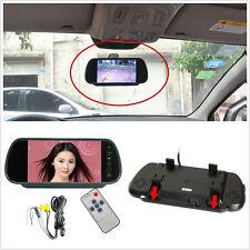 "12V Multifunktion 7"" TFT LCD HD Auto Rückspiegel Reverse Monitor Display Kit"