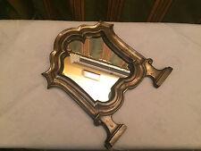 antiker Spiegel Bronze um 1900 traumhaftes Teil Schminkspiegel