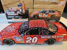 Tony Stewart #20 Home Depot  2007 Chicago Raced Win 1/24 Action Diecast Car