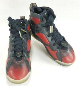 Nike Air Jordan 7 Retro DB Doernbecher 898650 Red Kids Basketball Shoes sz 4Y