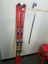 Salomon Prolink X-scream 8 Skis With Bindings Silvretta Size 177 Cm