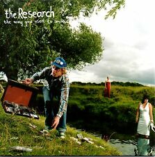 """THE RESEARCH - THE WAY YOU USED TO SMILE - 7"""" GREEN VINYL SINGLE - MINT"""