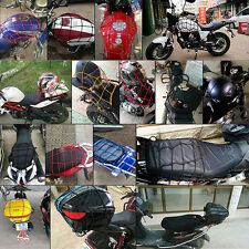 1Pc Black Motorcycle Accessory Net Luggage Tuck String Bag Bike Helmet Mesh New