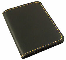 REFILLABLE Leather Pocket Notebook Mini Composition Book Cover Travel Notepad