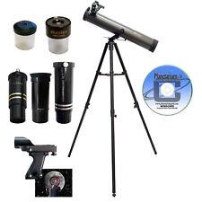 Galileo FS-80Z -  Reflector Telescope w/ Zooming Eyepiece & Erecting Lens