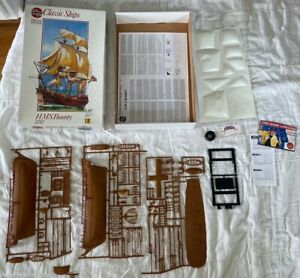 AIRFIX SPECIAL EDITION HMS BOUNTY 1787 SHIP MODEL KIT 1:87 SCALE C0MPLETE #09257