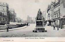 Queen Victoria Statue - Windsor Castle - Unused Postcard by FGO Stuart (2.95)