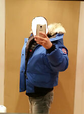 2018 LATEST CONCEPT POLAR BEAR CANADA GOOSE BLUE LABEL PBI CHILLIWACK XL PARKA