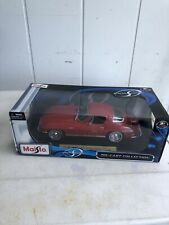 MAISTO 1965 RED CHEVROLET CORVETTE DIECAST 1:18 SWEEEEEET MUSCLE CAR! NRFB