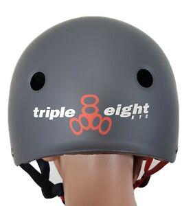 Triple Eight Multi Sport Helmet L/XL Black Matte (SK-564) No Box