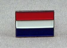 Metal Enamel Pin Badge Brooch Flag Netherlands Nederland Dutch National Flag