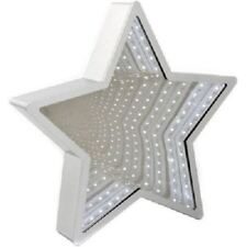 INFINITY MIRROR LIGHT STAR  LED TUNNEL DESK / WALL LAMP